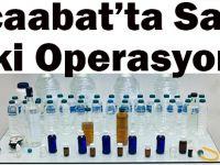 Akçaabat'ta Sahte İçki Operasyonu!