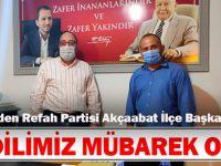 Yeniden Refah Partisi Akçaabat ilçe Başkanı Barış Sandıkcı'dan Kandil Mesajı