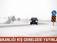 İçişleri Bakanlığı Kış Genelgesi Yayınladı.