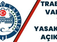Trabzon Valiliği Yeni Yasakları Yayılandı