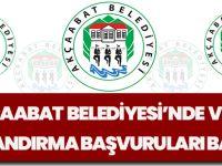 Akçaabat Belediyesi'nde Vergi Yapılandırma Başvuruları Başladı