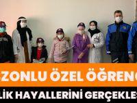Trabzonlu Özel Öğrenciler Polislik Hayallerini Gerçekleştirdi