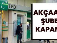 Türk Ekonomi Bankası Akçaabat Şubesi Kapattı!