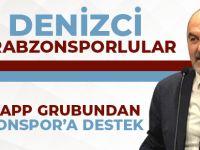 Denizci Trabzonsporlular Whatsapp Grubundan Trabzonspor'a Destek