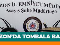 Trabzon'da Tombala Baskını!