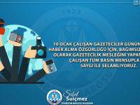 Trabzon Barosu 10 Ocak Çalışan Gazeteciler Günü Basın Açıklaması