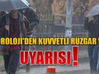 Doğu Karadeniz İçin Kuvvetli Rüzgar Ve Yağış Uyarısı