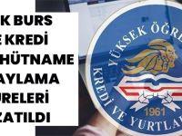 KYK Burs Ve Kredi Taahhütname Onaylama Süreleri Uzatıldı
