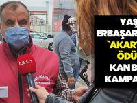 Yaşar Erbaşaran'dan `Akaryakıt Ödüllü' Kan Bağışı Kampanyası