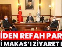 Yeniden Refah Partisi Vali Makas'ı Ziyaret Etti