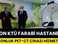 Trabzon'da Farabi Hastanesi'nde 10 Milyonluk Pet-Ct Cihazı Hizmete Girdi