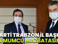 Ak Parti Trabzon İl Başkanı Sezgin Mumcu Mazbatasını Aldı