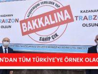 """Trabzon'dan Tüm Türkiye'ye Örnek Olacak """"Alışverişini Yerelden Yap, Bakkalına Sahip Çık"""" Çağrısı"""