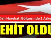 Zeytin Dalı Harekatı Bölgesindeki Terör Saldırısında 2 Askerimiz Şehit Oldu