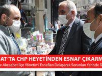 Akçaabat'ta CHP Heyetinden Esnaf Çıkarması!