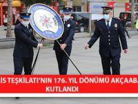 Türk Polis Teşkilatı'nın 176. Yıl Dönümü Akçaabat'ta Kutlandı