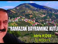 Akçaabatlı İş Adamı İdris Köse Ramazan Bayramını Kutladı