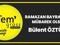 Zem Gross Market Ramazan Bayramı Mesajı Yayınladı