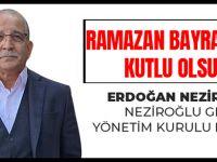 Akçaabatlı İş Adamı Erdoğan Neziroğlu Ramazan Bayramını Kutladı