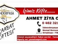 """""""İskenderpaşa Köfte"""" Ahmet Ziya Okan"""