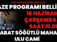 Kemal Hacısalihoğlu'nun Cenaze Programı Belli Oldu