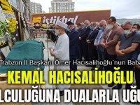 Kemal Hacısalihoğlu Son Yolculuğuna Dualarla Uğurlandı
