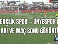 Sebat Gençlik Spor  - Ünyespor Maçının Gol Anı Ve Maç Sonu Görüntüleri