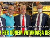 Başkan Hacısalihoğlu, Eski Ve Yeni Yöneticilerle Buluştu