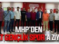 MHP'den Sebat Gençlik Spor'a Ziyaret