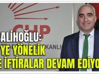 """Hacısalihoğlu: """"CHP'ye Yönelik Sahte İftiralar Devam Ediyor"""""""