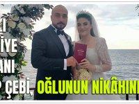 Araklı Belediye Başkanı Recep Çebi, Oğlunu Evlendirdi