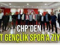 CHP'den Sebat Gençlik Spor'a Ziyaret