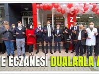 Merve Eczanesi Dualarla Açıldı..