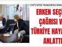 CHP'li Köse Trabzon'da Konuştu