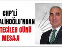 CHP'li Hacısalihoğlu'ndan Gazeteciler Günü Mesajı