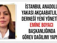 İstanbul Anadolu Yakası Akçaabatlılar Derneği Yeni Yönetimi Göreve Başladı