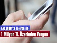 Akçaabat'ta Telefon Hattı İle Dolandırıcılık Gerçekleştirildi