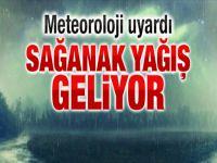 Kuvvetli Yağış Uyarısı