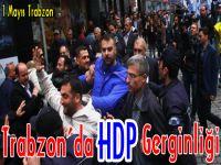 Trabzon'da 1 Mayıs Nedeniyle Yürüyüş Düzenlendi