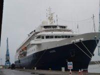 Trabzon'a Bu Yılın 3. Kurvaziyer Yolcu Gemisi Geldi