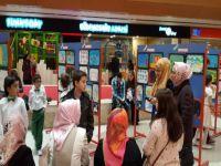 Öğrencilerinin Resimleri Varlıbaş'ta Görücüye Çıktı