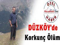 Düzköy'de Korkunç Bir Olay Meydana Geldi