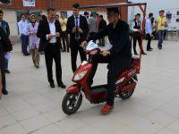 KTÜ'lü Öğrencilerden Güneş Enerjisi İle Çalışan Motosiklet