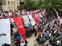 CHP'nin Akçaabat Mitingine Fazla İlgi Yoktu
