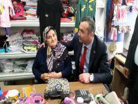 MHP'li Yavuz Aydın Esnafa Özel Müjdeler Verdi