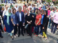 Esnaf ve Vatandaşlarla Ramazan Sevincini Yaşadı