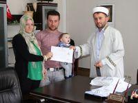 Alman Gelin Rize'de Müslüman oldu!