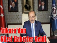Gümrükçüoğlu Ankara'dan Güzel Haberlerle Geldi