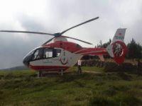 Hava Ambulansı Yayla Mevsiminde Yoğun Mesai Yapıyor