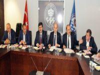 Trabzon Büyükşehir Belediyesi'nde Doğalgaz Ve Elektrik Toplantısı
